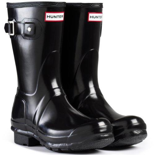 Hunter - Original Short, Stivali di gomma Donna Nero