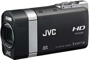 JVC GZ-X900 EU Full-HD Camcorder (SD-/SDHC-Card, 10 Megapixel, 7,1 cm (2,8 Zoll) Display, Bildstabilisator) inkl. Digitalkamerafunktion mit 9 Megapixel schwarz