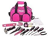 Geschenkidee Tussi Geschenke - 77 Teiliges Werkzeugset Pink