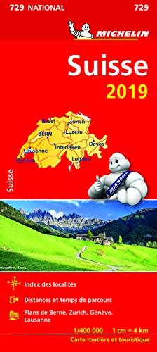 Carte Suisse Michelin 2019 par  Michelin