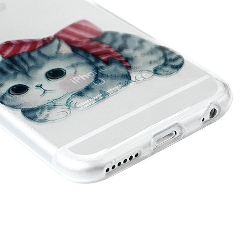 iPhone 6 Plus Hülle Case, iPhone 6S Plus 5,5 Zoll Schutzhülle YOKIRIN TPU Silikon Tasche Handyhülle Handytasche Schale Slim Fit Gemalt Etui Backcover Rückseite Protective Shell Muster:Diamant Farbe 9
