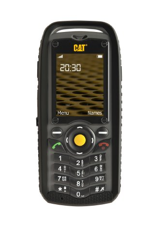 CAT B25 Open-air Handy (Dual-Sim, 2 Megapixel Kamera, Freisprechfunktion, UKW Radio) schwarz