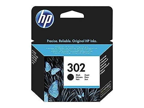 HP Original–HP–Hewlett Packard Officejet 4650(302/f6u66ae)–Cartouche d'encre Noir–190pages–3,5ml