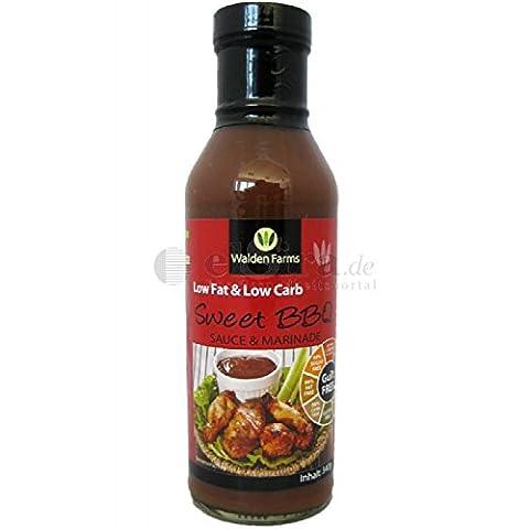 Walden Farms - LowCarb+LowFat+LowCal BBQ Sauce Honig / 340g