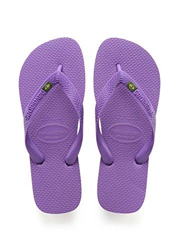 Havaianas Brasil, Infradito Unisex Adulto, Viola (Purple), 39/40 EU ( 37/38 Brazilian)
