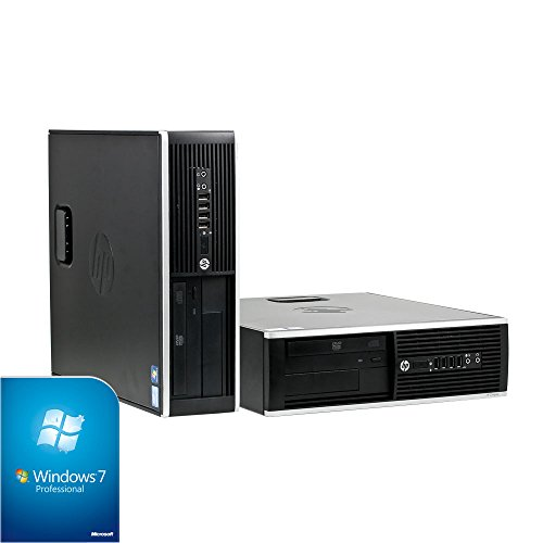 Hewlett Packard HP 8200 Elite SFF Business PC (Intel Core i5 3.1GHz, 16GB RAM, 500GB HDD, DVD-RW, Windows 7)