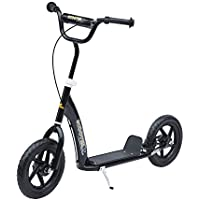 "Homcom Teen Push Scooter Kids Children Stunt Scooter Bike Bicycle Ride On 12"" Tyres"