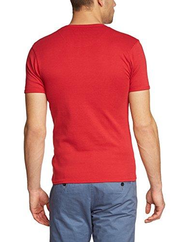 Garcia Herren Unterhemd PSS01, Einfarbig Rot (berry 620)