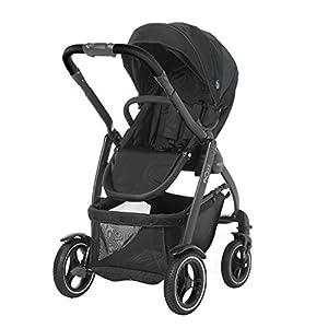 Graco Evo XT - Coche de bebé, color gris y negro
