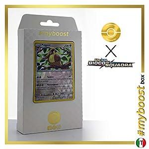 Pidgeot 124/181 Holo Reverse - #myboost X Sole E Luna 9 Gioco di Squadra - Box de 10 Cartas Pokémon Italiano
