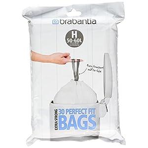 Brabantia Müllbeutel-Spenderpackung, 60 Stück