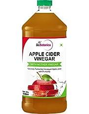 St.Botanica Natural Apple Cider Vinegar with Mother Vinegar - 500 ml - Raw, Unfiltered, UnRefined