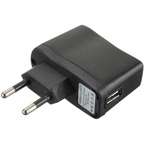 Cargador USB Adaptador de corriente CA de la UE universal para Smartphone Celular.