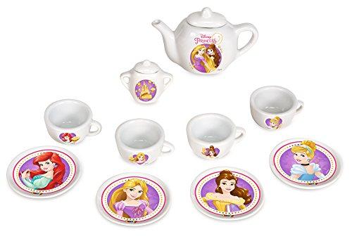 Smoby 24723 - Disney Princes Porzellan Kaffee-Geschirrset