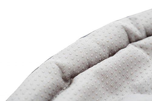 Kissen für Mini Top von Gonge / Farbe: grau / Material: wattierter Stoff / Durchmesser 64 cm /...