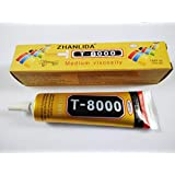 100% Original | 50-ML T8000 Adhesive Glue For LCD Touch, Jewelry, Nail Art, Craft Etc.