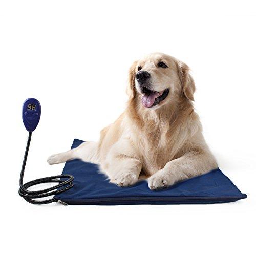 Lesypet mascotas–Seguro y impermeable de calefacción Cojín de calefacción para perros y gatos, passenden UL Monitorear adaptador