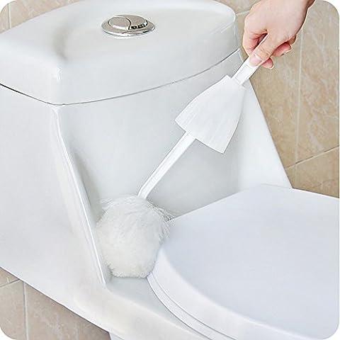 LanLan Toilet Brush Mop Multifunctional Soft Swab