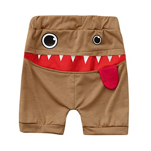 Zylione Kinder Hosen Boy Baby Shark Big Tongue Pluderhosen Hosen Kindertagesgeschenk (Shorts Shark Short Set