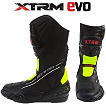 76f9cd82a6c5a XTRM Stivali Moto da Uomo E Donna Evo Nuovi 2019 Stivali Sportivi Quad  Racing Motociclo Urbani