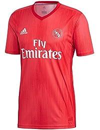 adidas Real Madrid Third – Camiseta de fútbol para Hombre, Hombre, Color Real Coral