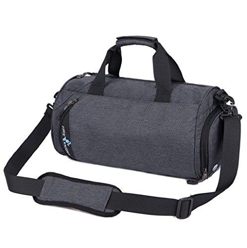 Imagen de  hombre sannysis bolso deportivo gimnasio bolsa portátil de viaje gris