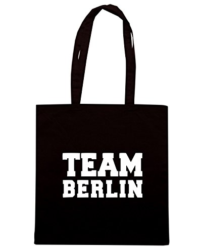 T-Shirtshock - Borsa Shopping OLDENG00672 team berlin Nero