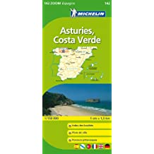 Carte ZOOM Asturies, Costa verde