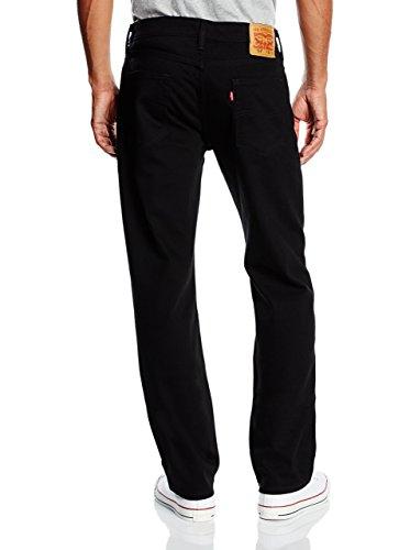 Levi's Herren Jeans 514 Straight Fit Schwarz (Black 211)