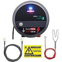 Voss.farming Pastor eléctrico V70, Electrificador de cercados 230V, versátil y Potente