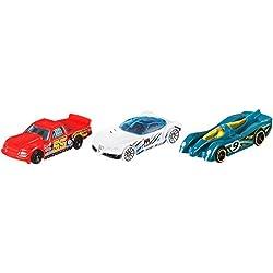 Hot Wheels K5904 - Pack De 3 Vehiculos (Mattel)