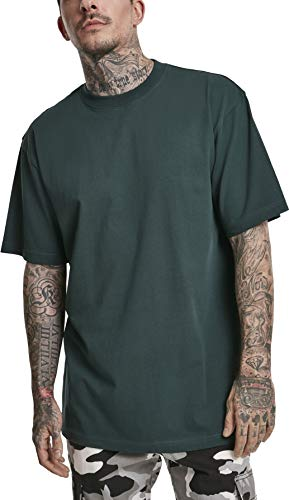 Urban Classics Herren Tall Tee T-Shirt, bottlegreen, 3XL