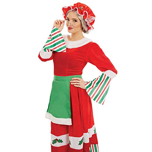 Mrs Womens Kostüm Claus - Fun Shack FN4222M Kostüm, Women, Mrs Claus, M