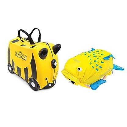 Trunki-Ride-on-Suitcase-und-PaddlePak-Koffer-Set