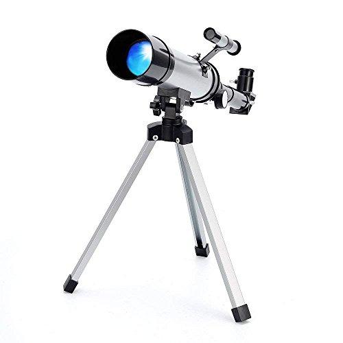 Teleskop Astronomisches Tragbares Zoom HD Refraktor Teleskop für Einsteiger, Amateur-Astronomen und Kinder für Beobachtung von Mond und Sterne- Ranipobo