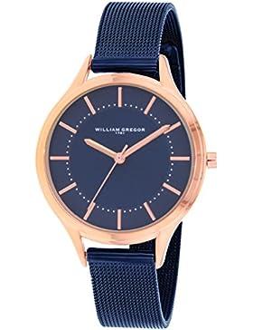 WILLIAM GREGOR Damen-Armbanduhr BWG30004G-308