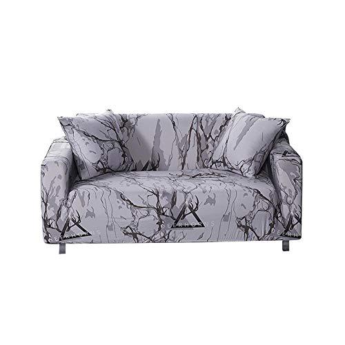 Morningtime copridivano 3/2/1 posti, elasticizzato, con stampa, in poliestere, elastico, morbido, lavabile, con schiuma anti-scivolo, e:love seat sofa cover