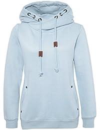Sublevel Sweatshirt | Kapuzenpullover | Sweater | Hoodie sportlich-elegant für Damen - Top Qualität und Tragekomfort dank hohem Baumwollanteil