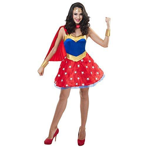 o Women Dress L/XL (Wonder Woman Superhelden Kostüme)