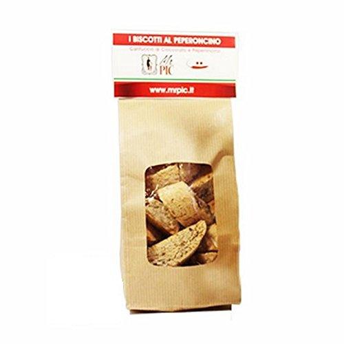 Cantucci al Peperoncino Habanero Giallo (200 g) - Mr PIC: il Peperoncino Toscano di alta qualità - Carmazzi: la più ampia linea di prodotti piccanti in Italia