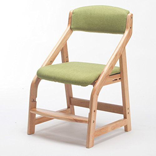 ERRU-Chaises Chaise réglable Chaise de table à manger en bois massif Chaise chaises de ménage (3Colors, 46 * 49.5 * 77cm) (Couleur : C)