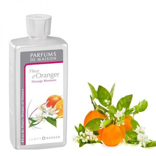 LAMPE BERGER - Nachfüllflasche - Raumduft - Fleur d'Oranger/Orange Blossom - (0,5l) - Orange Blossom Duft