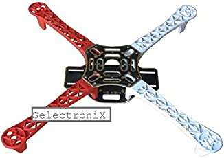 SELECTRONIX F450 Quadcopter Frame, 450x55mm (Red)