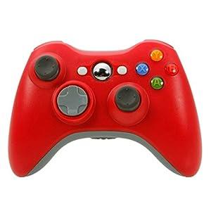 Althemax® Neue drahtlose drahtlose Schlag-Spiel Joypad Steuerpult für Xbox 360 – Red