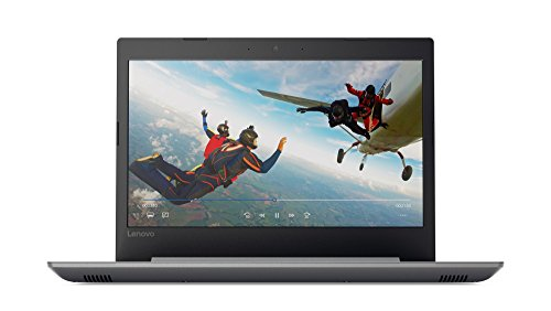 Lenovo IdeaPad 320-14IKBN 14-Inch HD Notebook - (Platinum Grey) (Intel Core i3-7100U, 4 GB RAM, 128 GB SSD, Windows 10 Home)