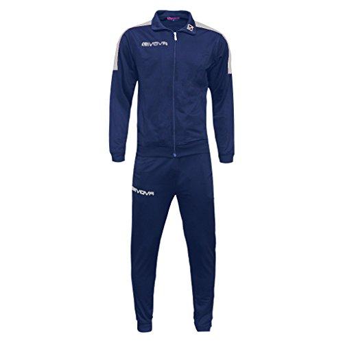 Marchio Givova - modello tuta Revolution- completo di giacca con zip manica lunga e pantalone/Home...