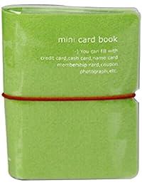 Porte carte pour ranger 32 cartes, série BONBON (Vert)