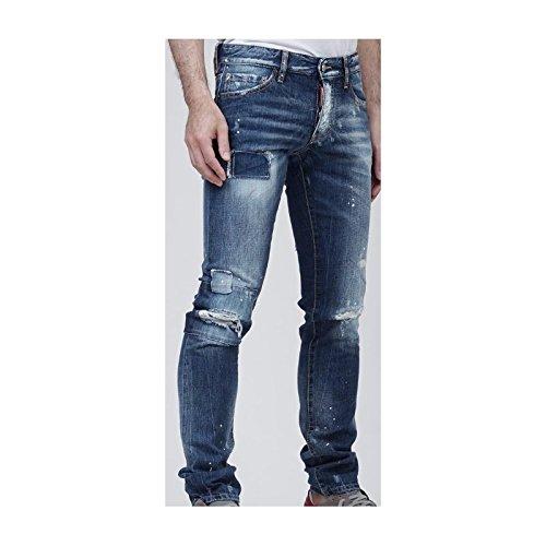 03faf15edf0aed DSquared - Vaquero - Pantalones - para Hombre Azul Azul 54