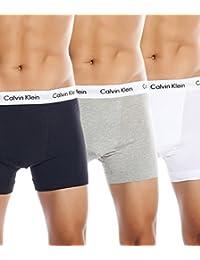 Calvin Klein, 3P Low Rise Trunk - Pack de 3 calzoncillos para hombre
