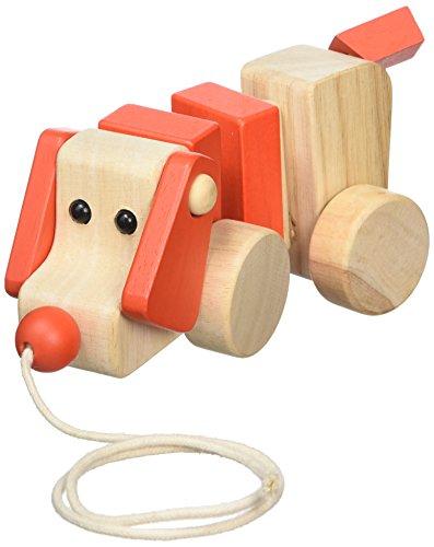 A B Gee 38194Holz Hund Pull entlang Spielzeug (Bewegen Sie Ihn Entlang)